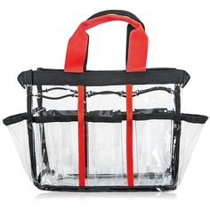 SHANY Clear Travel Makeup Bag - Cosmetics Makeup Nail Organizer * You can get additional details at the image link.