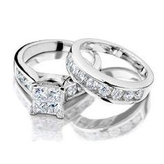 Princess Diamond Engagement Wedding Carat