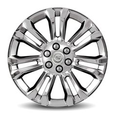 Escalade 22in Wheels, Chrome, CK159 SES:Personalize your Escalade with these 22-Inch Chrome Accessory Wheels.