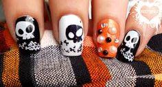 Resultado de imagen de halloween nail design