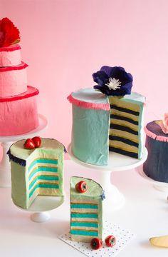 Papier Mache Cakes | Oh Happy Day!