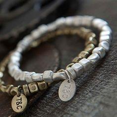 Tutti & Co Silver Bead Bracelet. Now Only £12.50 http://www.lizzielane.com/product/tutti-co-silver-bead-bracelet/