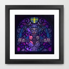 Sage of Shadow Framed Art Print by Joshua A. Biron - $35.00