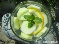 Νερό Αποτοξίνωσης Sassy με αγγούρι και δυόσμο για επίπεδη κοιλιά – enter2life.gr