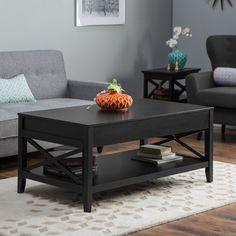 Have to have it. Belham Living Hampton Lift Top Coffee Table - Black - $349.99 @hayneedle.com