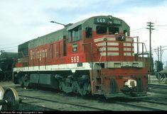 RailPictures.Net Photo: CBQ 569 Chicago, Burlington & Quincy GE U28C at Denver, Colorado by E.D. Motis