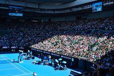 Crowd in Rod Laver Arena, Melbourne
