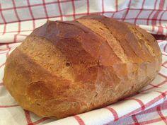 zürichi kenyér készítése otthon, kenyérsütés gép nélkül, kézzel dagasztva, házi kenyér, recept fázisfotókkal, Kocsis Hajnalka receptje