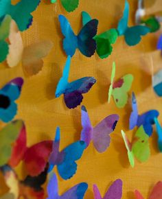 I'm doing this project with the grandkids this summer --- all I need to get is a butterfly punch.