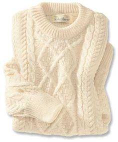 irischer Aran-Pullover
