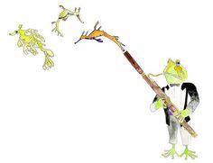 ÉTUDE frog music sea horse sea dragon by BrookeSauerArtPrints Basson, Sea Dragon, Oboe, Piano Music, Music Bands, Watercolor Paper, Giclee Print, Original Paintings, Vibrant