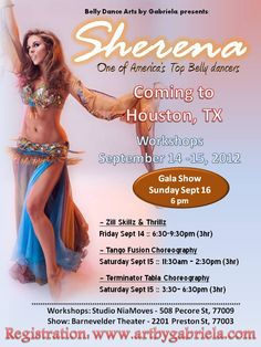 Sherena Workshops in Houston - 2012