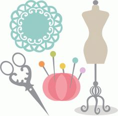free sewing clip art images today s my birthday sew what rh pinterest com sewing clip art printables sewing clip art printables