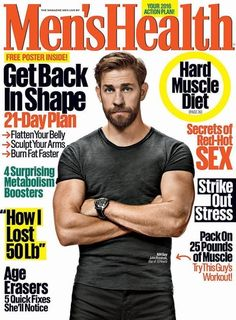 We've all seen how John Krasinski has graduated from Jim from The Office to THIS. | Here's The First Image Of John Krasinski's New Buff Body Totally Shirtless