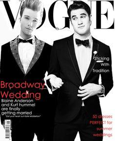 blainesbedroom:    Klaine get married.