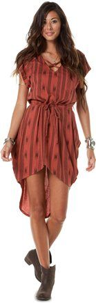 STUSSY NOMAD DRAPE DRESS | Swell.com