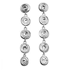 """Kate wore these long, dangly earrings a few times before her engagement. From the website: :"""" Ndoro Dangle Earrings Ndoro found in Zimbabwe can be divided into two separate categories. Tiffany Earrings, Dangly Earrings, Amethyst Earrings, Gold Drop Earrings, Sterling Silver Earrings, Jewellery Earrings, Princesa Kate, Bracelets, Dangles"""