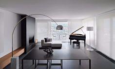 Einzigarte und moderne Wohnzimmer für Ihr zu Hause | Weißes Sofa Holzmitte Tisch | #moderne #Wohnzimmer #deko extravagant lampion design minimalistisch idee wohnzimmer