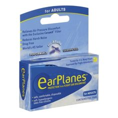 EarPlanes are FABULOUS!  I looooooove these!  I used to have such sharp ear pain when I flew...like a spike through my head and then my ears would be clogged up for hours.  One of the last times I flew without these I actually lost my hearing for weeks because a pocket of blood had developed behind my ear drum!  These have really made a huge difference in my life!  I would NEVER fly without them again!