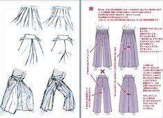 袴 描き方 - Google 検索