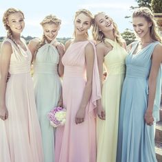 Actual Image Convertible Infinity Bridesmaid Dress Long Sweetheart Purple…