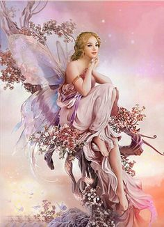 ≍ Nature's Fairy Nymphs ≍ magical elves, sprites, pixies and winged woodland faeries - Fantasy Girl, Chica Fantasy, 3d Fantasy, Fantasy Fairies, Fantasy Artwork, Magical Creatures, Fantasy Creatures, Fairy Dust, Fairy Tales