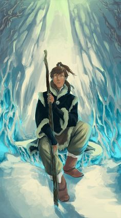 Korra by taikova Avatar Legend Of Aang, Korra Avatar, Team Avatar, Legend Of Korra, Sasameki Koto, Avatar World, Avatar Characters, Avatar Series, Avatar The Last Airbender Art