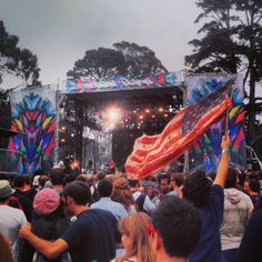 Grizzly Bear @ Outside Lands, San Francisco 8/11/13