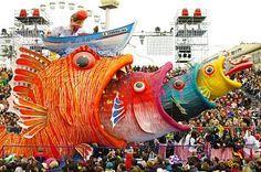 Fish float in Carnival