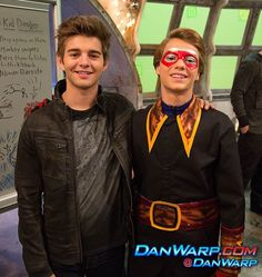 Jack Griffo and Jace Norman Thunder and Danger Collab episodes