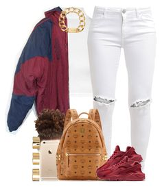 """Not in the ""Christmas Spirit"" at all tbh."" by livelifefreelyy ❤ liked on Polyvore featuring WearAll, FiveUnits, adidas, MCM, NIKE, Michael Kors and ASOS"