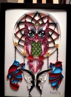 © Nacia - Quilled Dreamcatchers - Searched by Châu Khang
