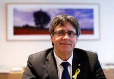 The sacked former leader of Catalonia said on Friday he could be re-elected as the region's president and rule remotely from his self-imposed exile in Brussels, but the Spanish government said it would not let that happen.