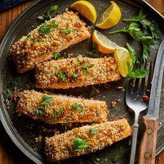 Easy Salmon Recipes, Healthy Recipes, Fish Recipes, Seafood Recipes, Dinner Recipes, Cooking Recipes, Seafood Meals, Healthy Breakfasts, Healthy Meals