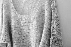 CATCAT ET SON DRESSING: DIY - Le pull doudou des débutantes
