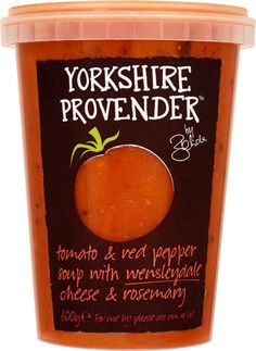 Buy The Yorkshire Provender Tomato Soup with Red Pepper & Wensleydale (600g) online in Waitrose at mySupermarket