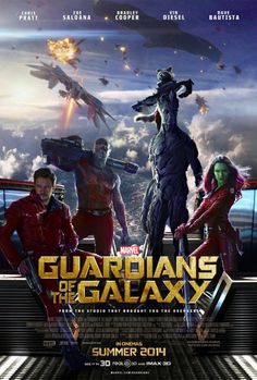 Guardians Of The Galaxy - definitely gonna go see this, just read the cast at the top!