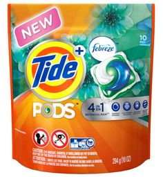 I'm learning all about Tide Pods Plus Febreze at @Influenster! @Tide PODS Plus Febreze Laundry Detergent Pacs