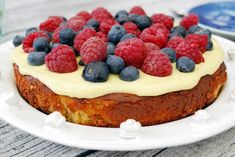 Fika, Food Cakes, Tart, Cake Recipes, Cheesecake, Deserts, Food And Drink, Sweets, Baking