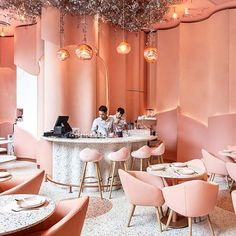 Home Decoration Application Referral: 5593614817 Architecture Restaurant, Hotel Restaurant, Restaurant Design, Architecture Design, Coffee Shop Design, Cafe Design, Store Design, Pantone, Commercial Design
