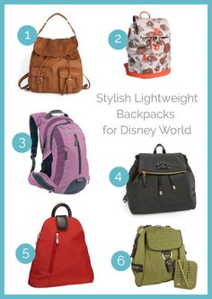 Stylish Backpacks for Disney World