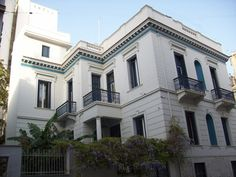Old Greek, Villa, Facade Architecture, Neoclassical, Luxury Homes, Palace, Design Art, Exterior, Mansions