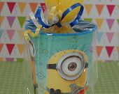 Despicable Me Themed Pre-Made & Custom Birthday Party Goodie Bags