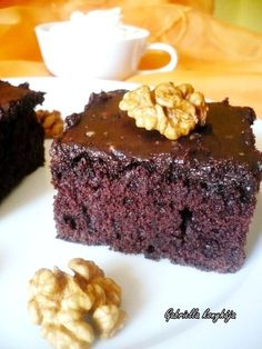Winter Food, Blondies, Cake Cookies, Bon Appetit, Macarons, Sweet Recipes, Muffin, Food And Drink, Sweets