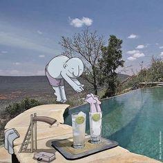 Panorama - imagens Aleatório da internet: Ilustração aleatórios engraçadas por Lucas Levitan