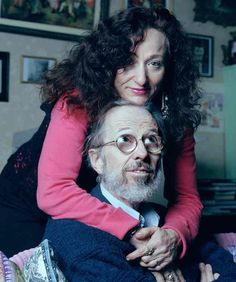 Robert Crumb with his wife of almost 40 years, Aline Kominsky-Crumb ** Robert Crumb, Fritz The Cat, Beauty Exhibition, Alternative Comics, Elderly Man, Yesterday And Today, Comic Artist, The Guardian, Belle Photo