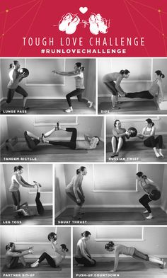 Grab a partner for this strength routine! Run Love Challenge: Week Two.