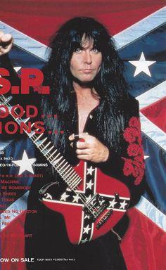 Bruce Dickinson, Glam Metal, Rockn Roll, Heavy Metal Bands, Custom Guitars, Wasp, Wild Child, Metalhead, Hard Rock