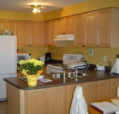 Light Orange Kitchen Walls a beginner's guide to using feng shui colors in decorating   dark