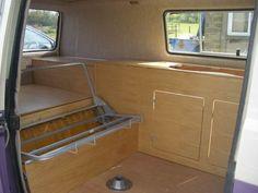 vw t3 bed plans - Buscar con Google